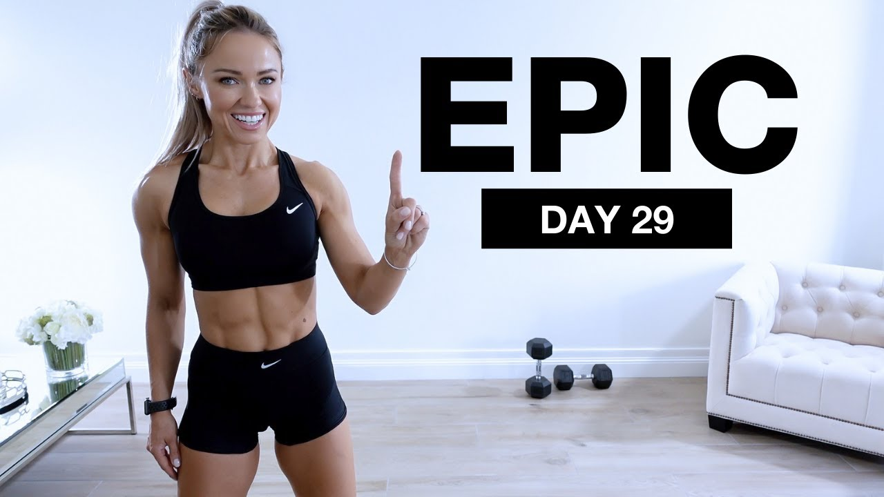 Day 29 of EPIC | ISOMETRIC & DYNAMIC Dumbbell Full Body Workout