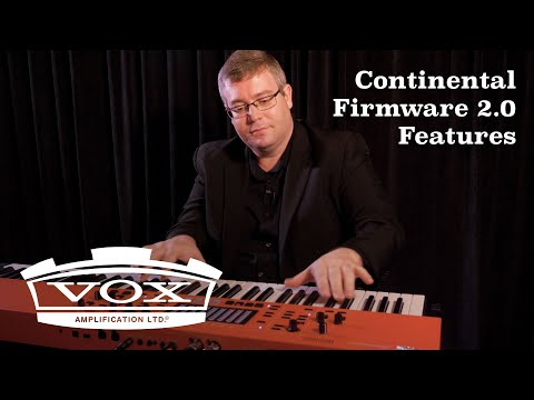 VOX Continental Firmware 2.0 Features