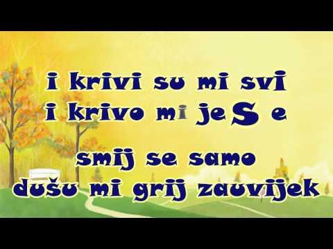 Toše Proeski  & Antonija Šola - Volim osmijeh tvoj (Karaoke)