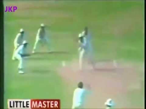 *****Rare ********* : Sunil Gavaskar's LastTest Inning  96 v Pakistan 1987