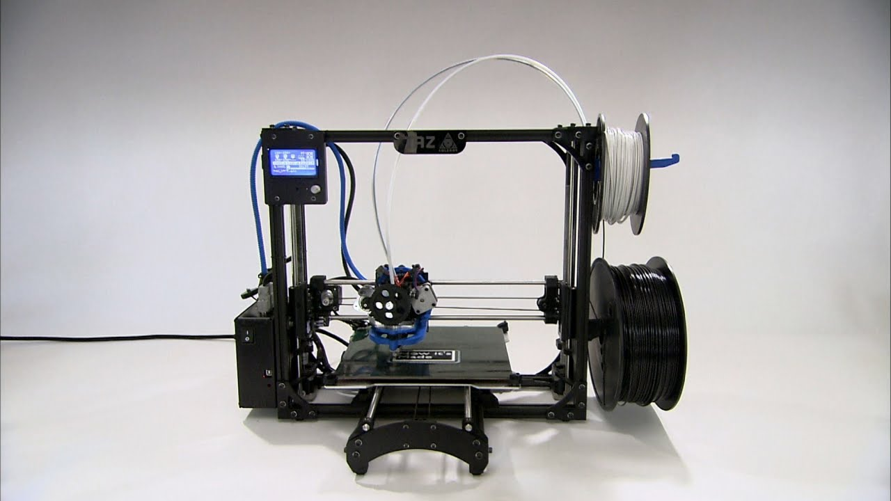 3d printers how it 39 s made youtube for Made with 3d printer