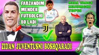Роналду Фарзандини хам футболчи қилмоқчи, Зидан хам Ювентусга утади, Погбанинг келажаги хақида.