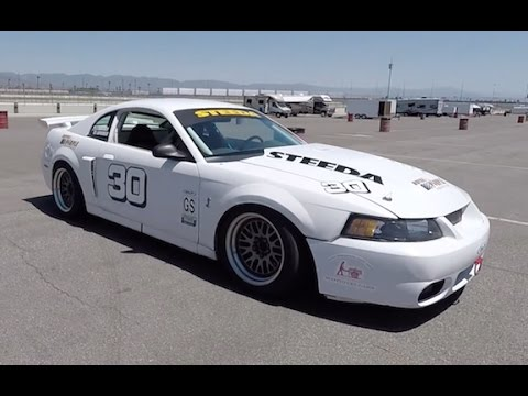 Championship-Winning 2002 Mustang Cobra Grand Am Race Car - (Track) One Take