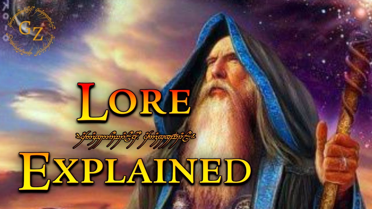 the blue wizards lord of the rings lore youtube