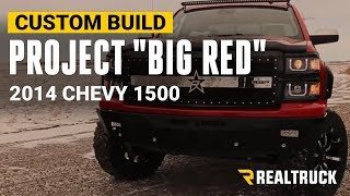 Video BIG RED Custom Chevy Silverado Truck Build download MP3, 3GP, MP4, WEBM, AVI, FLV Juli 2018