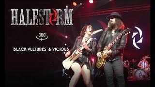 Halestorm - Black Vultures // Vicious [VR Live From Mohegan Sun]