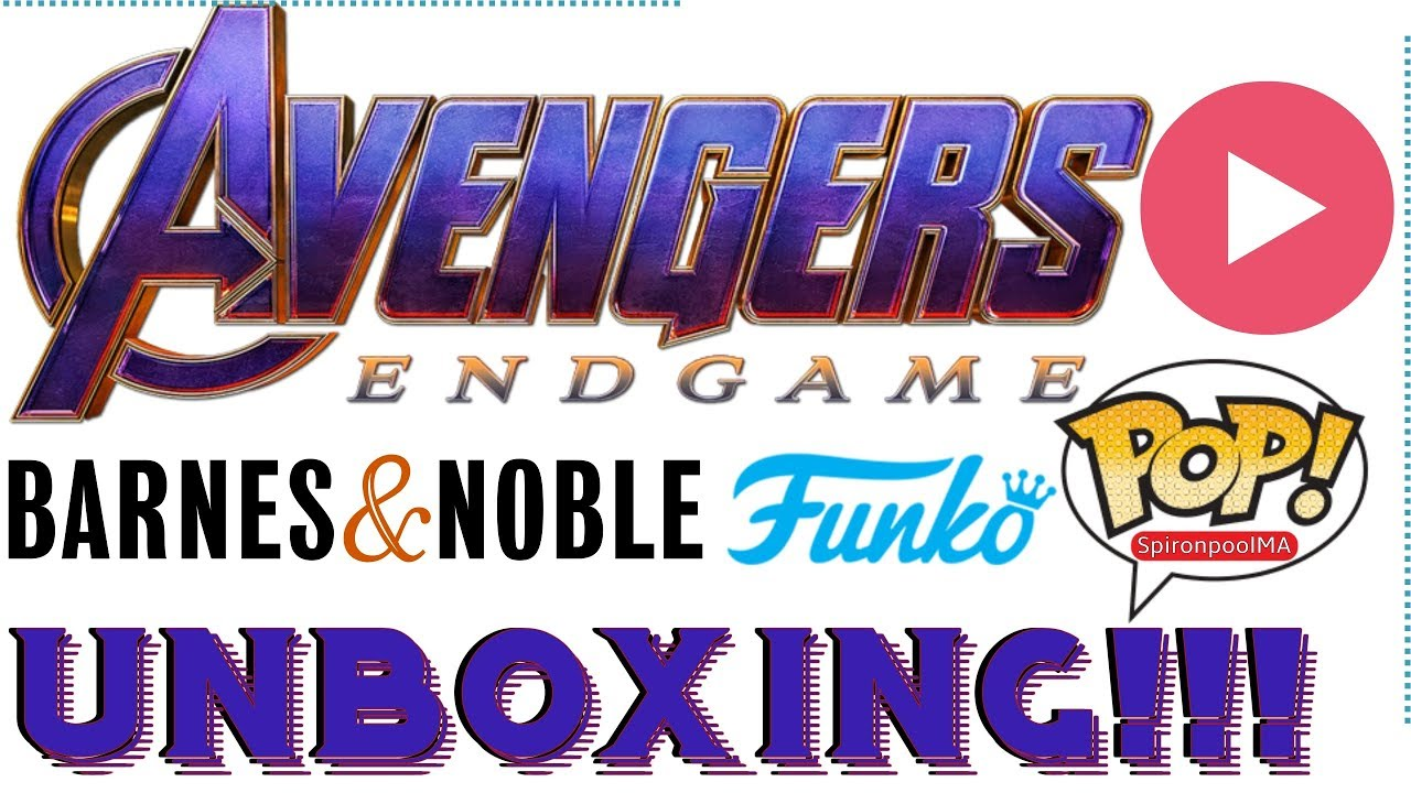 AVENGERS END GAME FUNKO POP HAUL UNBOXING  Mail call SpironpoolMA