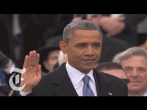 Obama Inauguration 2013 | Barack Obama's Oath of Office | The New York Times
