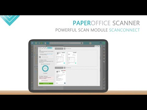 PaperOffice Scanner ScanConnect / Scan process / QR-Code and separation page