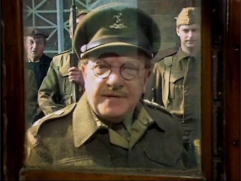 Dad's Army - The Royal Train - ... are you there Your Majesty?...