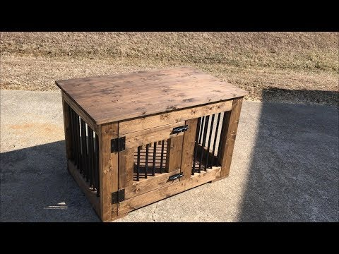 How to build a Dog Crate | Made with 2x4's and Rebar