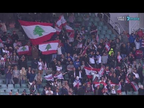 National Anthems - England vs Lebanon [RLWC17]