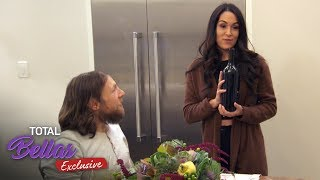 Brie shows off her wine knowledge at dinner! - Total Bellas