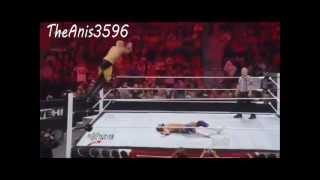 Christian VS Jinder Mahal Highlights WWE RAW 21 05 2012