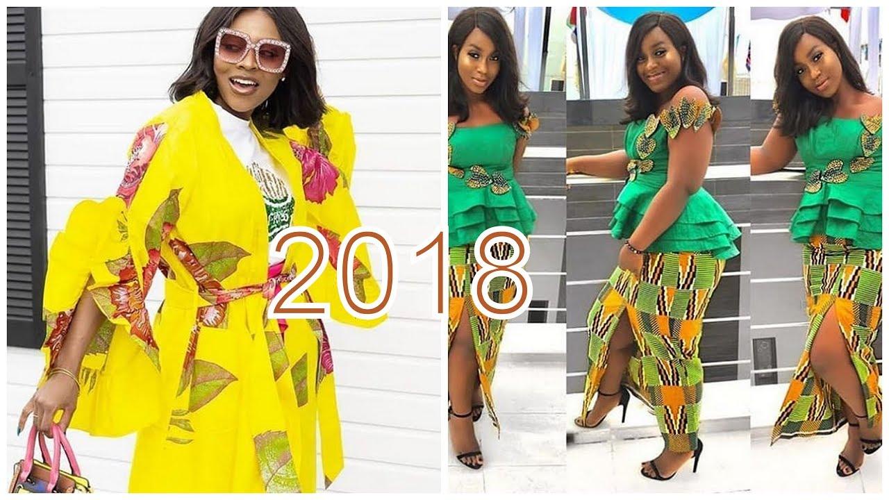 9989913b65996 Latest African Print Dresses 2018: Best Trendy Ankara Styles - YouTube