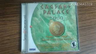 DREAMCAST NTSC GAMES: Caesars Palace 2000