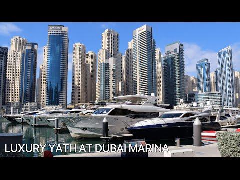 LUXURY YATH AT DUBAI MARINA   DUBAI UNITED ARAB EMIRATES