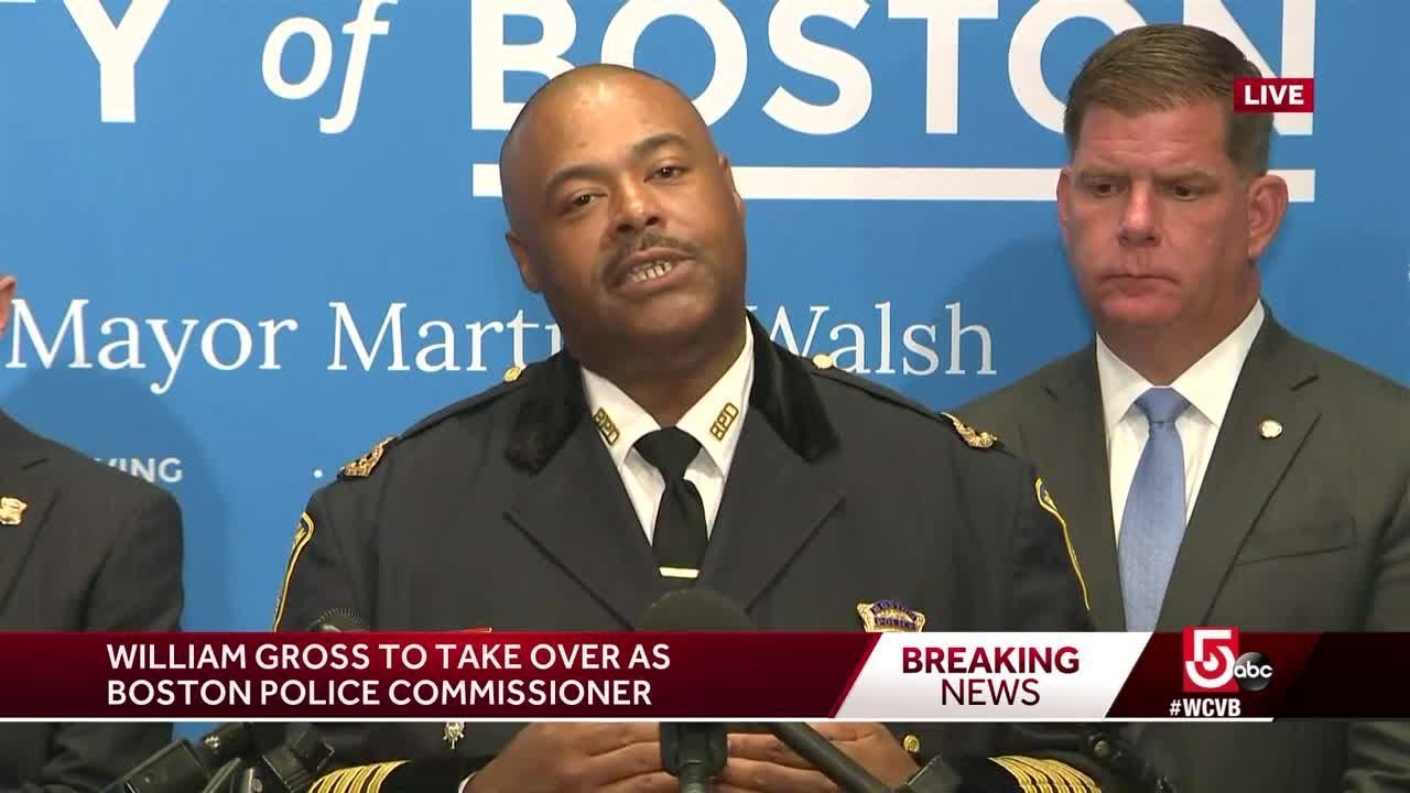 Boston reveals its first Black Police Commissioner William Gross