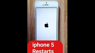 How to fix iPhone 5 Restarting Problem