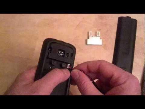 Changing an RTI Battery