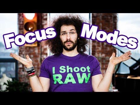 Cameras Focus Modes Explained: When to Use Continuous Auto Focus, Single Auto Focus or Manual Focus