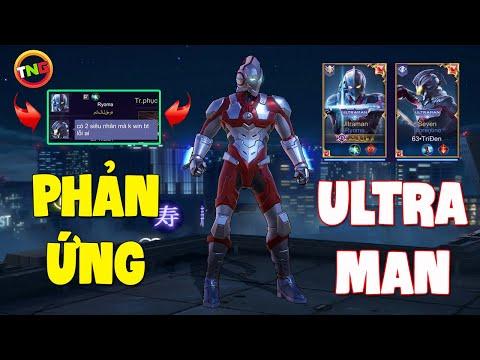 Liên Quân Phản Ứng khi thấy Ultraman RYOMA và Seven Florentino | 2 siêu nhân khiến AE CÂM LẶNG TNG