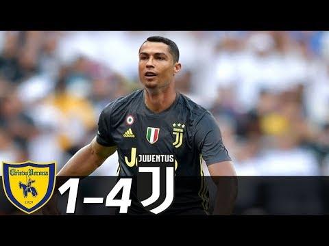 Chievo vs Juventus 1-4 -  Resumen & Goles ( Últimos Partidos ) 14/08/20018 HD
