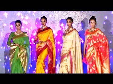 Traditional Saree Fashion Show in Kolkata Fashion Expo 2017