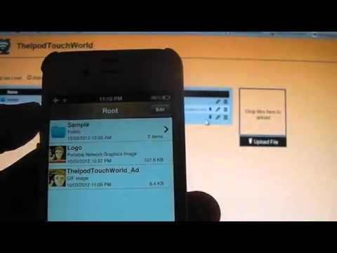 AirDisk Pro   Wireless Flash Drive App Review Giveaway for iPhone, iPod Touch and iPad HD