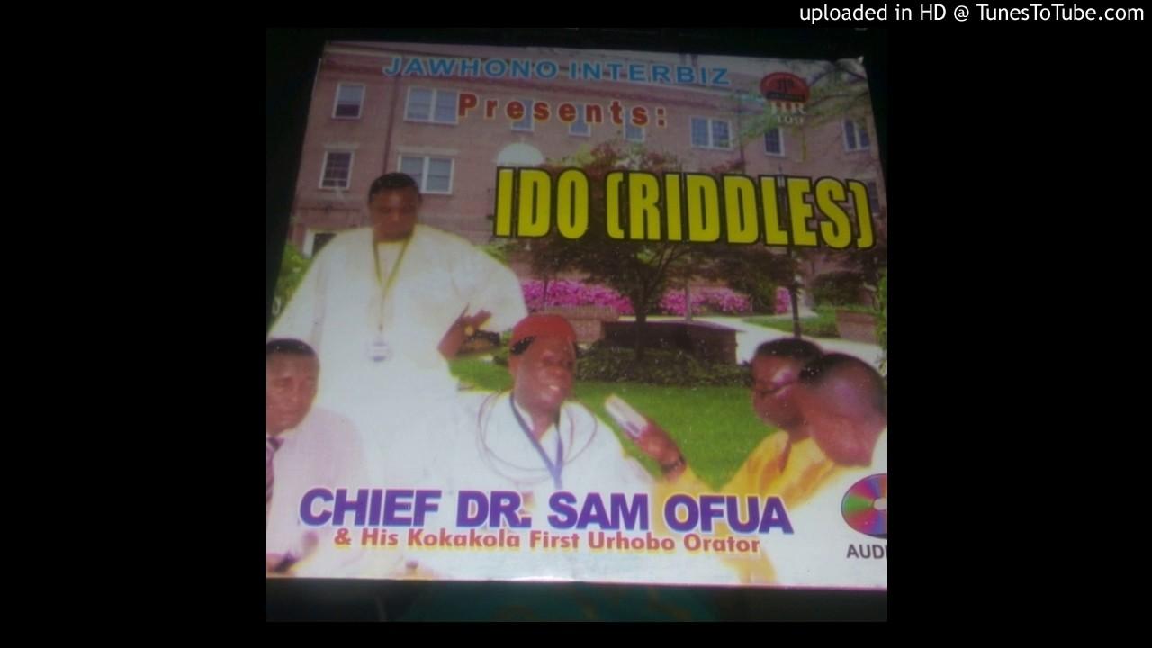 Okada man By chief Dr sa ofua