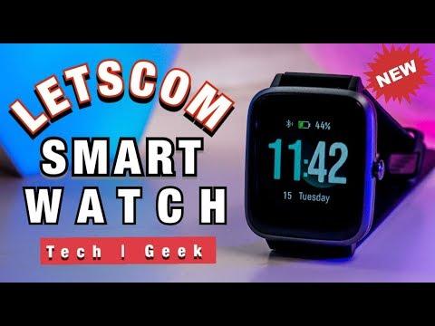 Letscom Smart Fitness Tracker..!