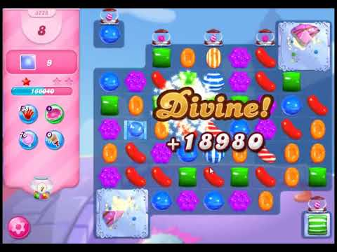 Candy Crush Saga Level 3228 - NO BOOSTERS