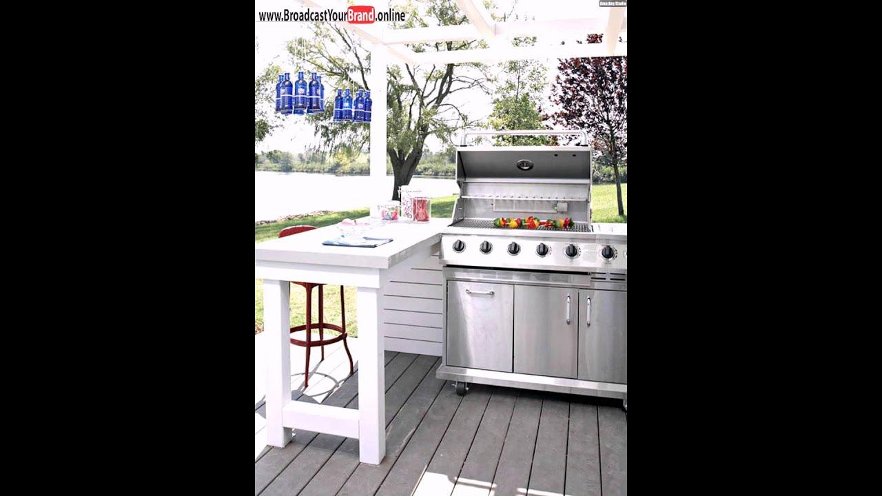 Garten Lounge Outdoor Küche Gartengrill Halbinsel - YouTube