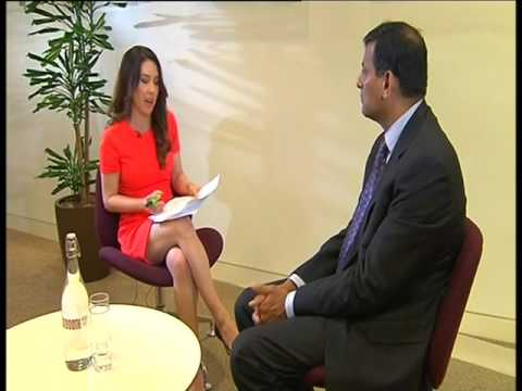 Governor Dr. Raghuram G. Rajan speaking with CNBC in London on May 13,2016