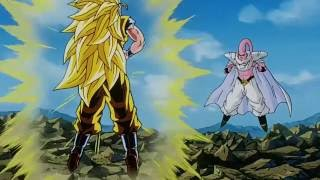vuclip Goku ssj 3 vs Super Buu (Gotenks absorbido)