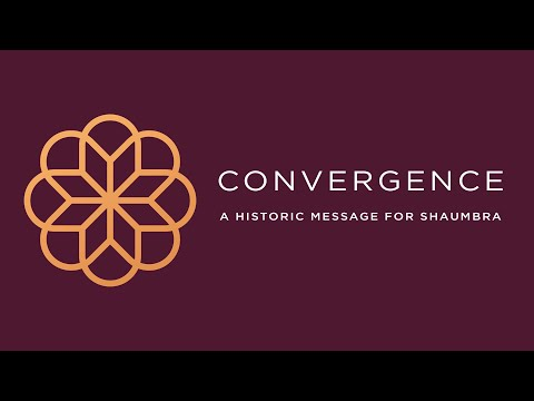 Convergence - A Historic Message For Shaumbra