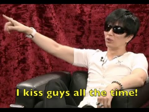 GACKT Nothing wrong with Bisexuality 同性同士のキスはよくあること!