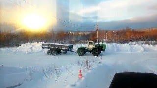 Экзамен Вождение Трактора Т 150-К.Полигон Сдача