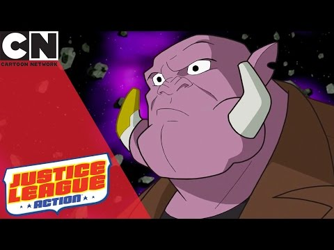 Justice League Action | Follow The Space Cab | Cartoon Network