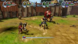 Orc attack e3 level gameplay 4 players