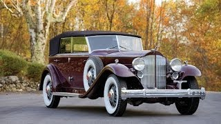 1932 Packard Twin Six Individual Custom Convertible Sedan by Dietrich