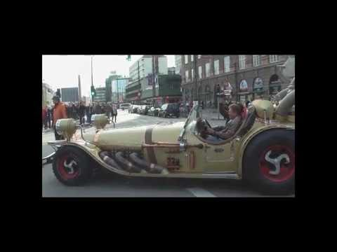 Panasonic HD Video camera  30fps - Copenhagen - The Royal couple and carriage