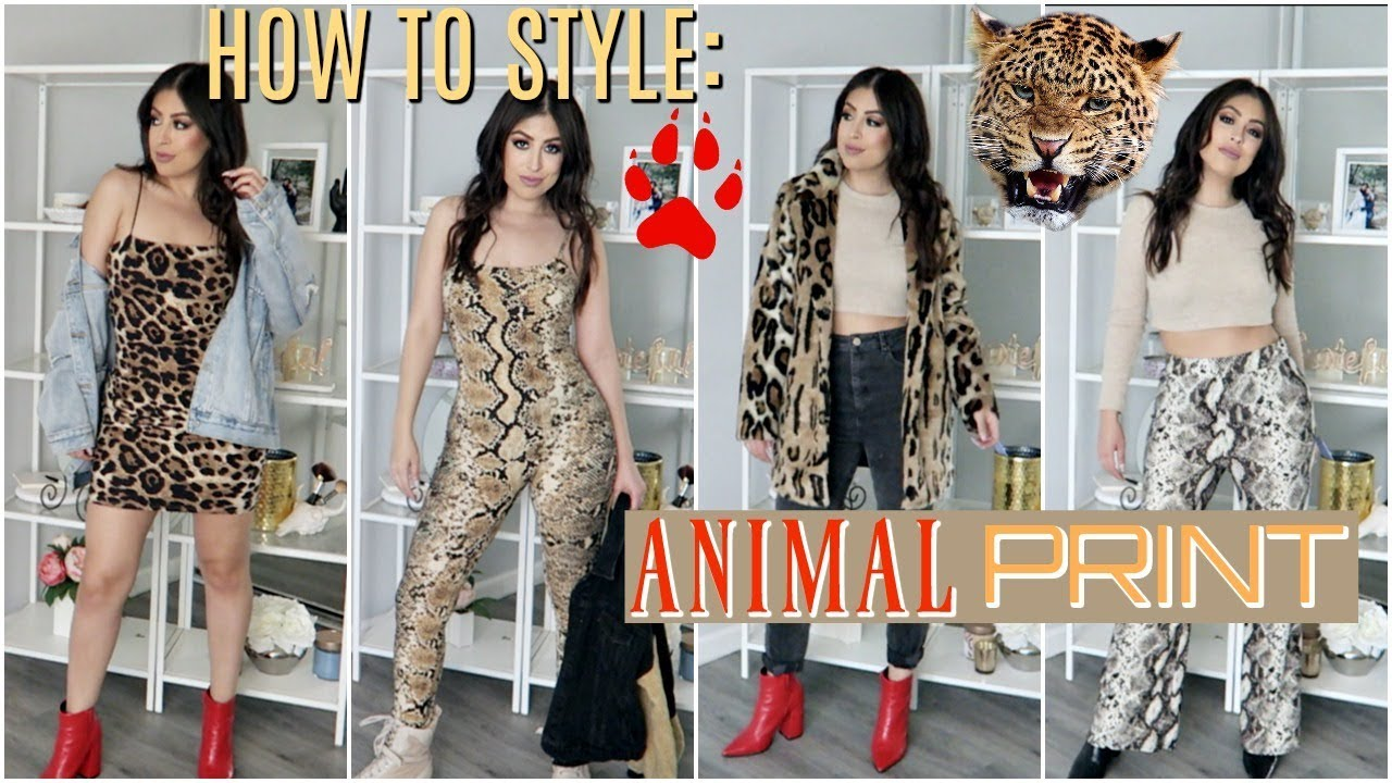 81fc313fe7b5 how to style animal print (snake \u0026 leopard print) outfit ideashow to  style