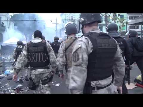Cracolândia Demolida, Mega Operação Policial!