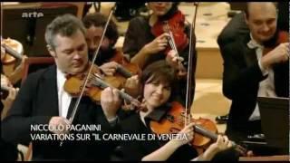 "Vadim Repin - Paganini ""Carnaval de Veneza"""