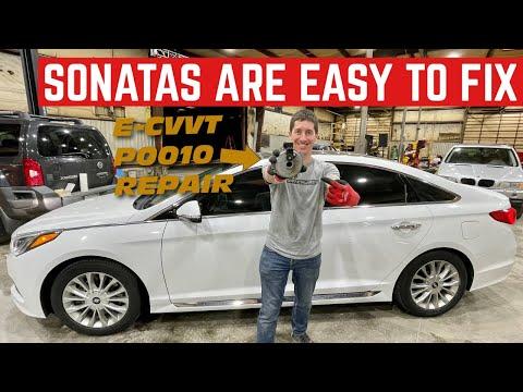 This 2015 Hyundai Sonata FINALLY BROKE *P0010 Cheap And Easy Repair*