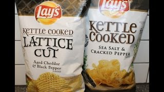 Lay's Aged Cheddar & Black Pepper And Sea Salt & Cracked Pepper Review