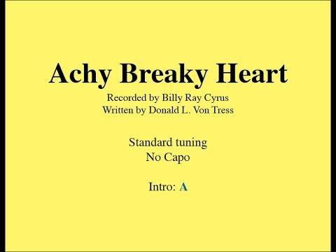 Achy Breaky Heart - Easy Guitar (chords and lyrics)