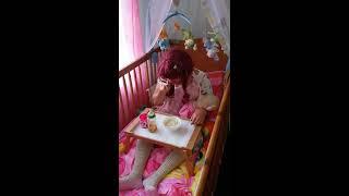 Repeat youtube video Adult Baby Girl 2. Teil, Diaper Lover, ABDL, Windelfetisch, Windelmami Tina in Berlin