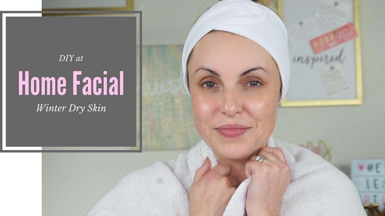 home-facial-dry-skin